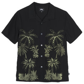 Palm Tree Button Up Tee