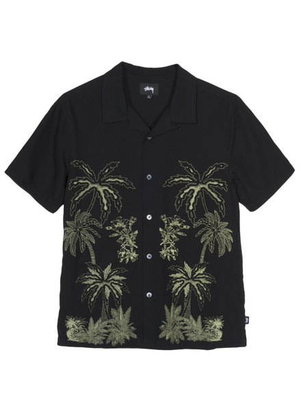 Stüssy Palm Tree Button Up Tee