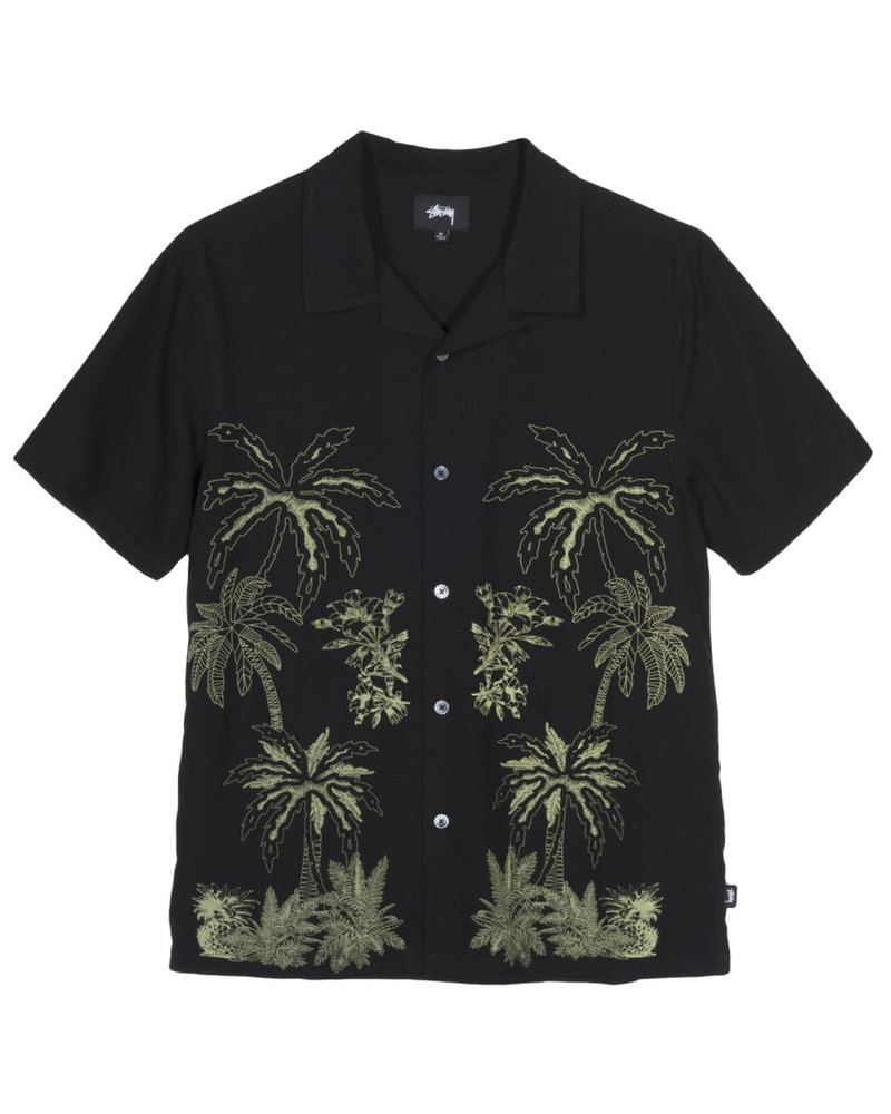Stüssy Palm Tree Button Up Tee