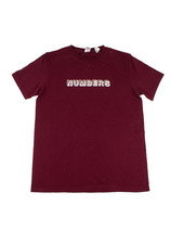 NUMBERS NUMBERS T-SHIRT 3-D WORDMARK S/S