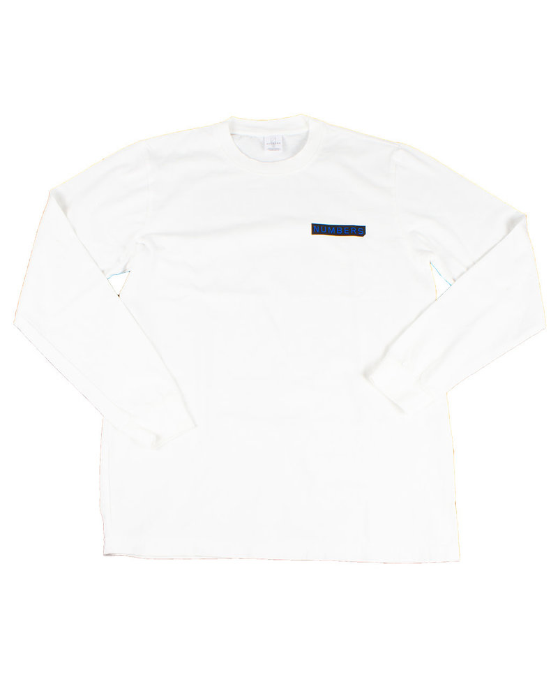 NUMBERS NUMBERS T-SHIRT LOGOTYPE L/S
