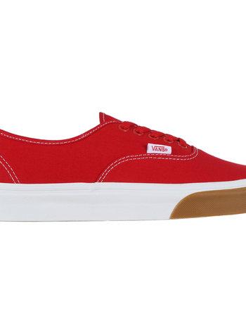 Vans VANS AUTHENTIC GUM BUMPER RED