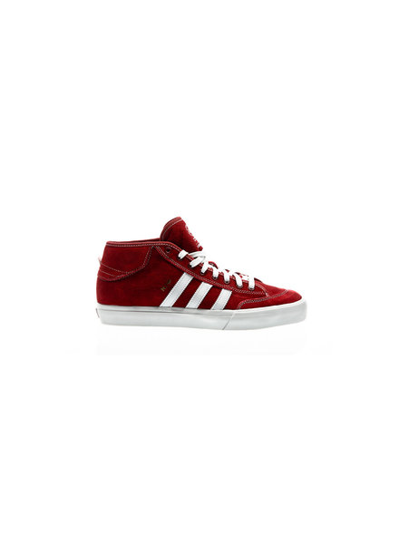 adidas Matchcourt Mid Scarlet Red/Featuring White