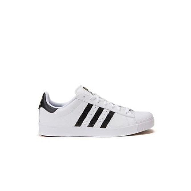 lapso Miedo a morir semáforo  Adidas Superstar Vulc ADV Core White/Featuring Black Shoes - Identity  Boardshop