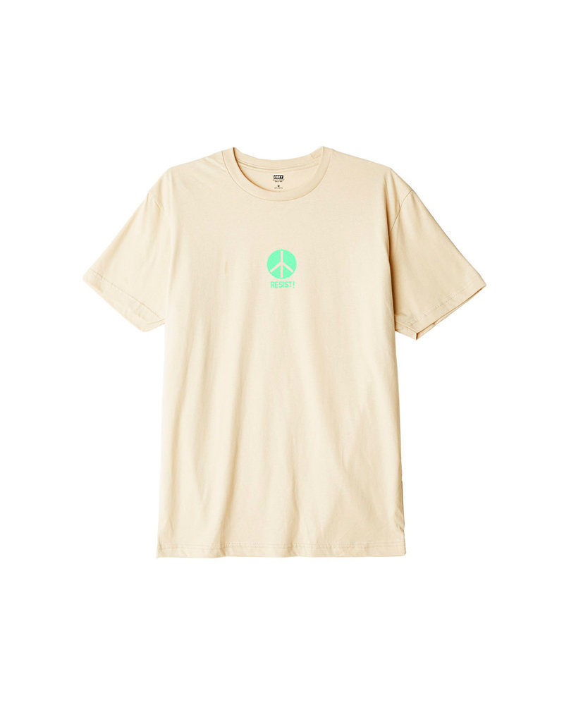 OBEY THE NEXT WAVE CREAM T-SHIRT