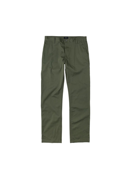 RVCA WEEKEND STRETCH PANTS OLIVE