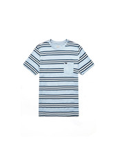 RVCA Ferris Striped Tee - Dusty Blush