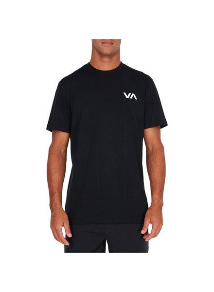 RVCA VA VENT S/S T-SHIRT BLACK