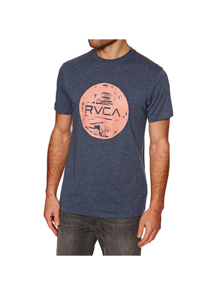 RVCA MOTORS INK DARK DENIM T-SHIRT