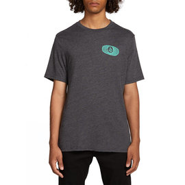 Volcom Volcom STONE ALIAS S/S T-SHIRT HEATHER BLACK