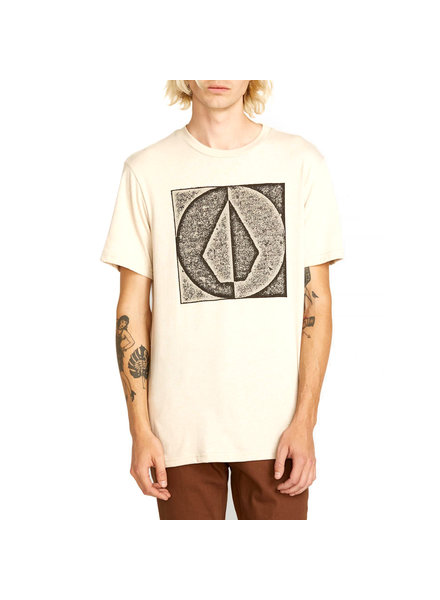 Volcom STAMP DIVIDE S/S T-SHIRT OATMEAL