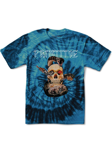 Primitive PRIMITIVE T-SHIRT WORLD TOUR TIEDYE (PAPSP1989)