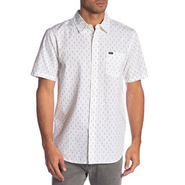OBEY Screwprint Short Sleeve Button-Up