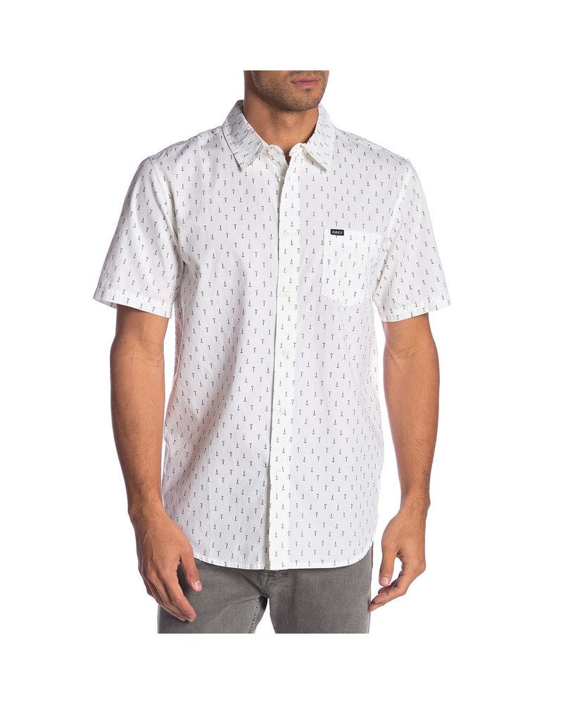 OBEY Screwprint Short Sleeve Button-Up
