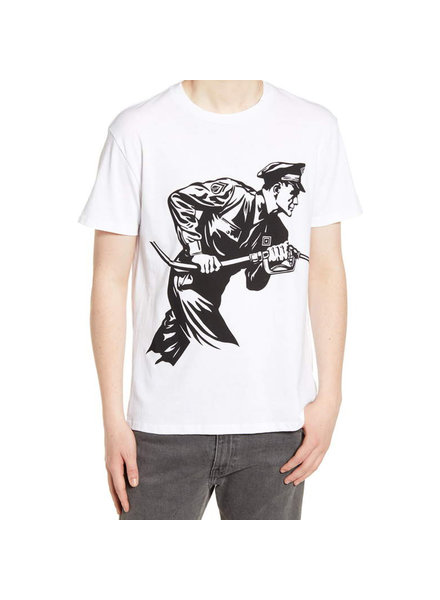 OBEY NEVER STOP CHARGING T-SHIRT