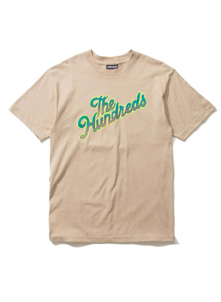 The Hundreds LOOSE SLANT T-SHIRT SAND
