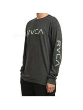 RVCA BIG RVCA LONG SLEEVE T-SHIRT BLACK