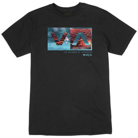 RVCA BIG BANG BALANCE T-SHIRT BLACK