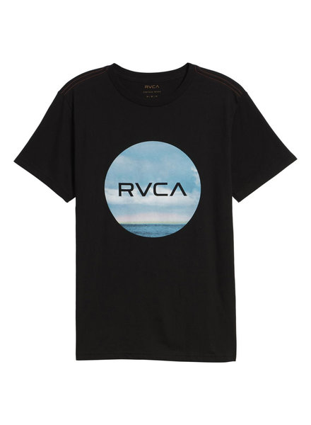 RVCA HORIZON MOTORS T-SHIRT BLACK