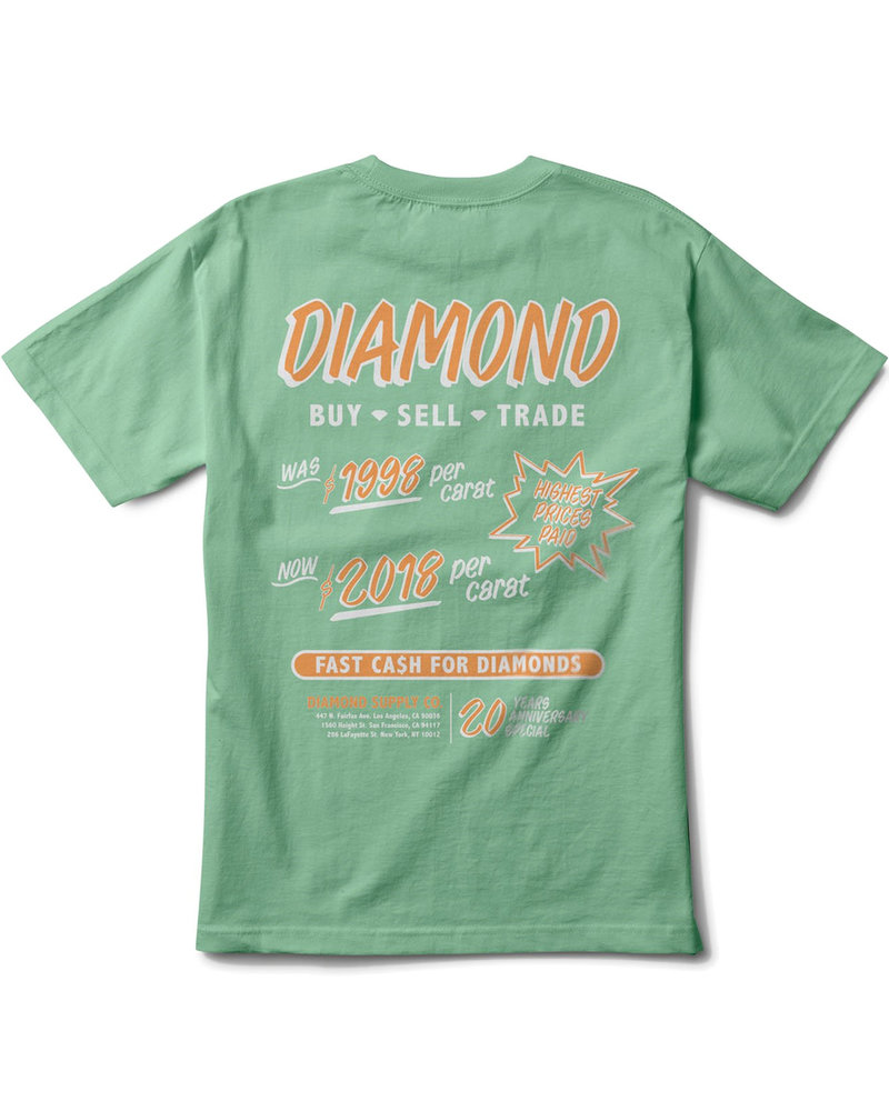 Diamond CA$H FOR DIAMONDS T-SHIRT MINT