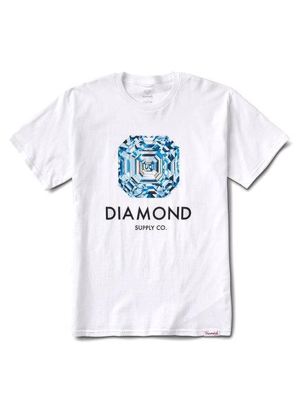 Diamond ASSCHER T-SHIRT WHITE
