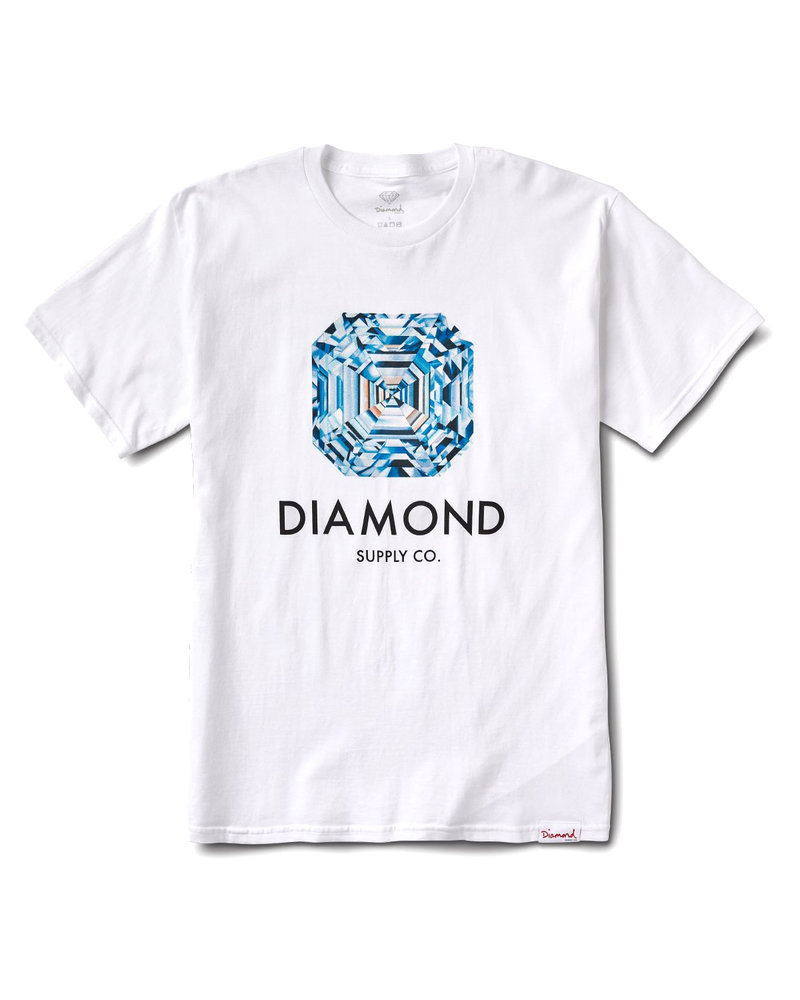 Diamond ASSCHER T-SHIRT WHITE