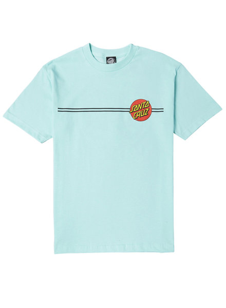 Santa Cruz Skateboards CLASSIC DOT REGULAR T-SHIRT CELADON