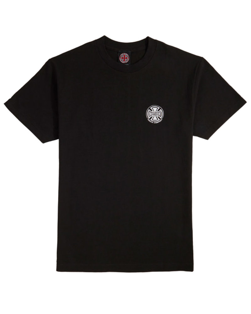 Independent Trucks EMBROIDERY S/S T-SHIRT BLACK