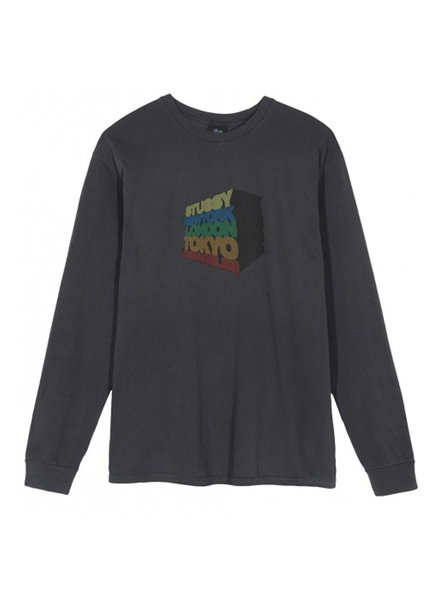 Stüssy STACKED UP L/S T-SHIRT