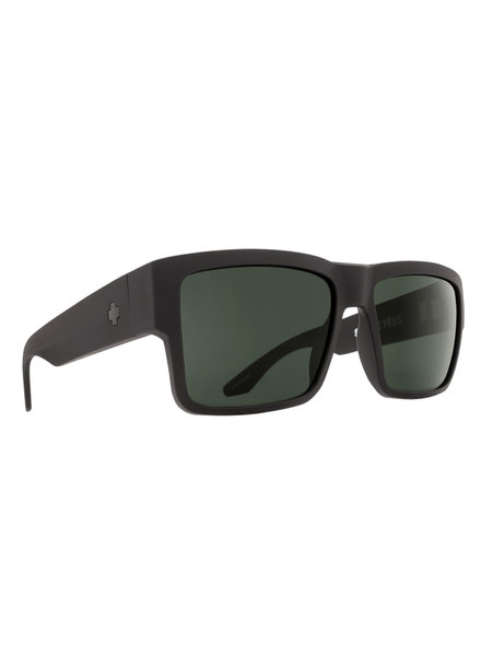 SPY CYRUS BLACK HD PLUS GRAY GREEN