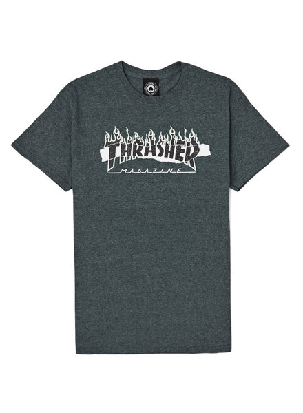 Thrasher THRASHER T SHIRT RIPPED S/S GREY