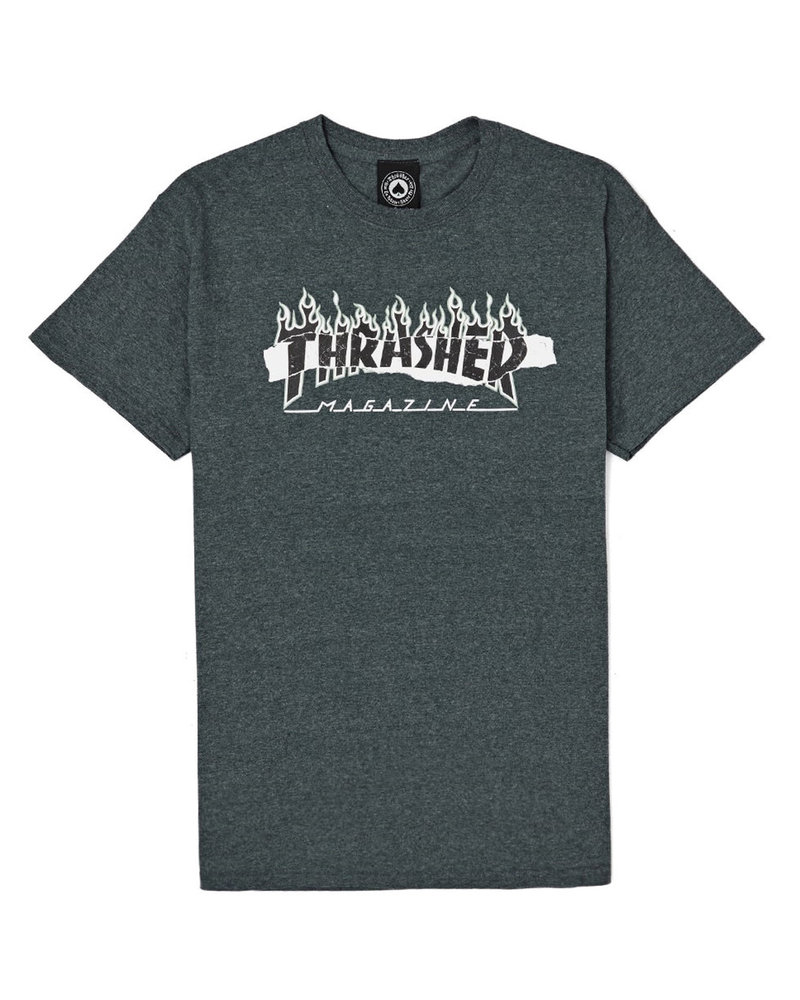 Thrasher THRASHER T SHIRT RIPPED S/S GREY