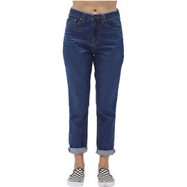5 POCKET HIGH RISE MOM FIT ANKLE JEANS