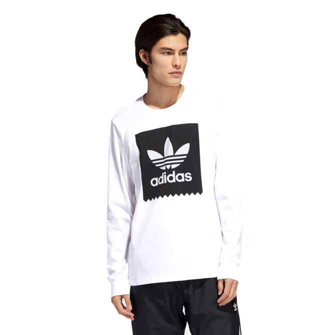 adidas BB White/Black Longsleeve