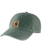 CARHARTT INC. HAT ODESSA CAP DUCK GREEN