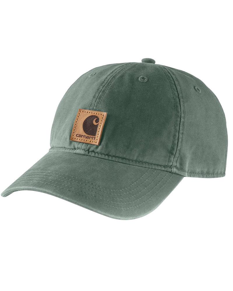 CARHARTT INC. CARHARTT HAT ODESSA CAP DUCK GRN (311)