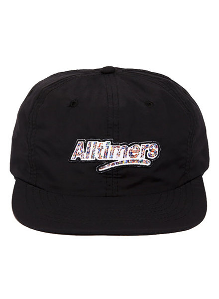 ALLTIMERS CROWD LOGO HAT BLACK