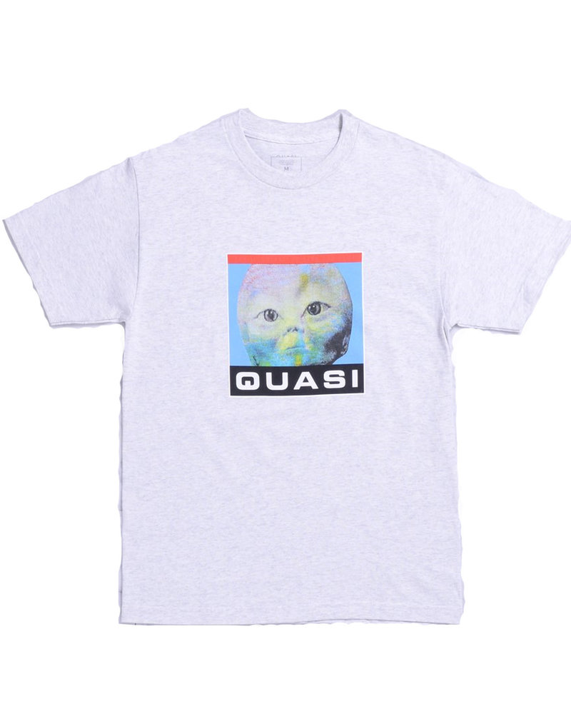 QUASI T-SHIRT SPACED ASH