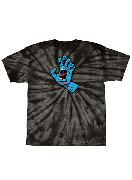 Santa Cruz Skateboards T SHIRT YOUTH SCREAMING HAND
