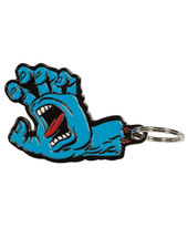 Santa Cruz Skateboards SCREAMING HAND KEY CHAIN BLUE