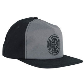 Independent Trucks EMBROIDERY SNAPBACK LOW PROFILE GREY BLACK HAT