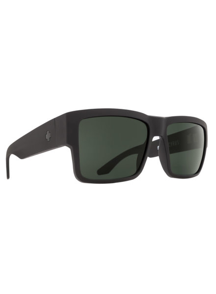 SPY CYRUS MATTE BLACK HD PLUS GRAY GREEN