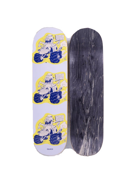 QUASI MONSTER DECK 8.5 WHITE