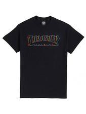 Thrasher SPECTRUM T-SHIRT BLACK