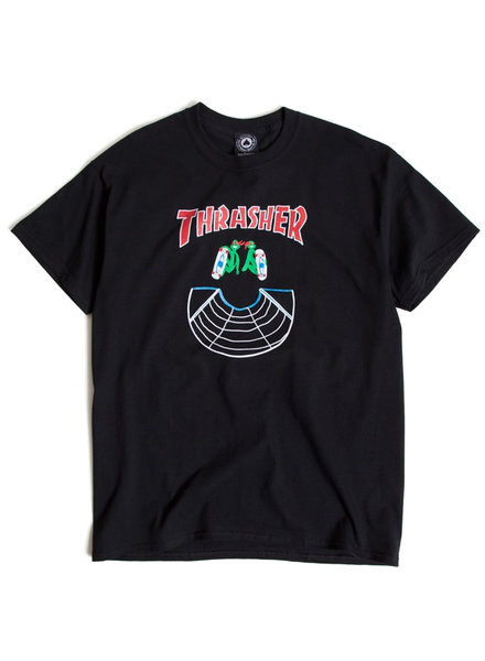 Thrasher DOUBLES S/S T-SHIRT BLACK