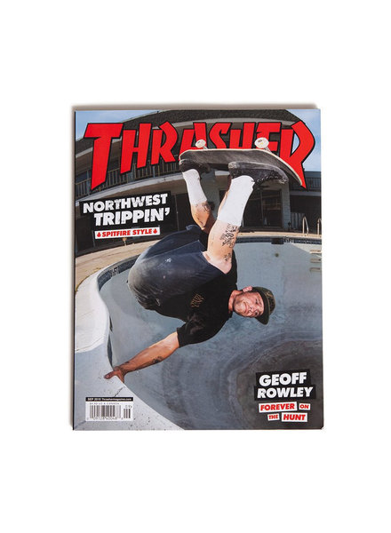 Thrasher Thrasher Magazine September 2019