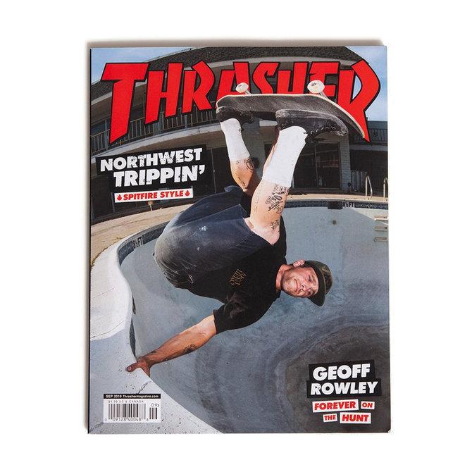 Thrasher Thrasher Magazine September 2019