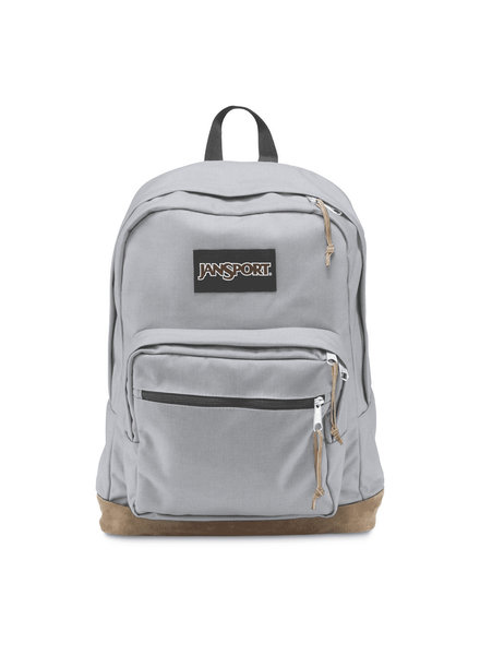 JANSPORT RIGHT PACK BACKPACK/PEWTER BLUE