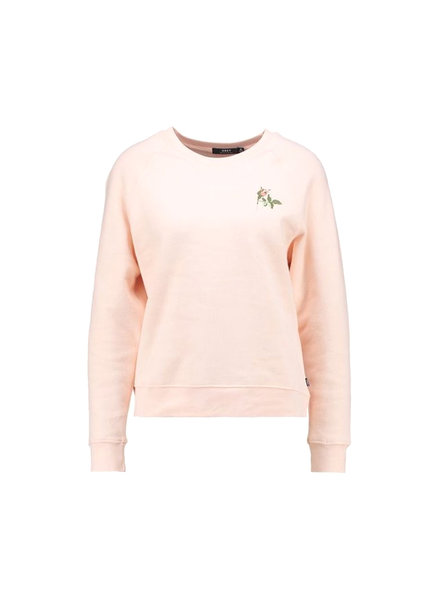 OBEY AVA CREW-NECK TENDER PEACH