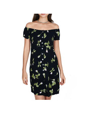 OBEY ROSA DRESS BLACK